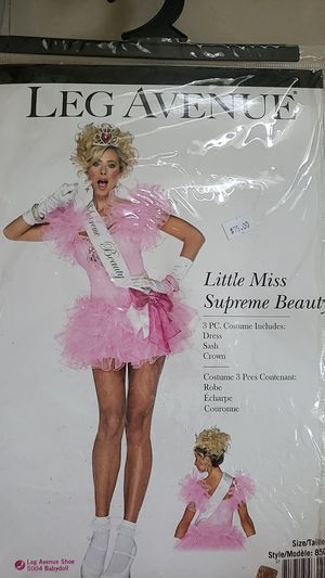 Halloween Princess or Miss Supreme Beauty outfit size S for Sale in Miami, FL