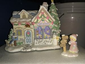 Hawthorne Village, Precious Moment's Christmas Village for Sale in Philadelphia, PA