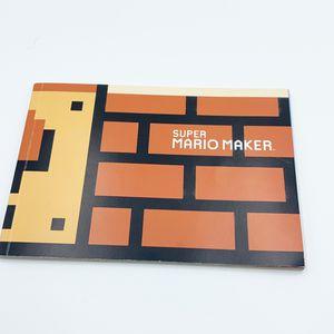 NEW Super Mario Maker Nintendo 3DS Wii U Switch Art Book / Idea Book for Sale in San Leandro, CA
