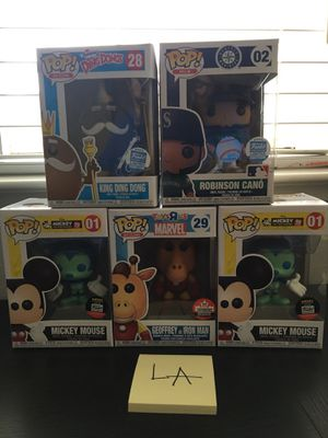 Funko Pop! Selling as pack no splitting! for Sale, used for sale  Modesto, CA