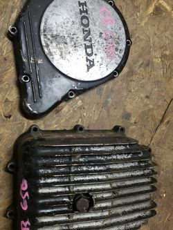 Honda Cb650 Cb 650 Engine Clutch Cover Case And Oil Pan for Sale in Portland,  OR