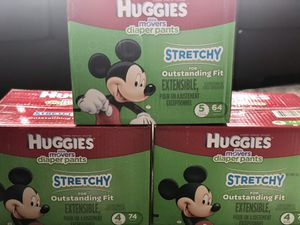 HUGGIES (Little Movers Diaper Pants) $20 each for Sale in Woods Cross, UT
