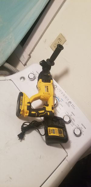 Still new dewalt rotory hummer with batery and charger for Sale in Oakland, CA
