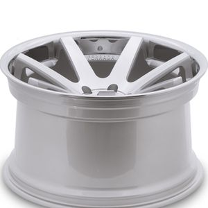 22 inch staggered 5x115 silver machined wheels brand new for Sale in La Habra Heights, CA