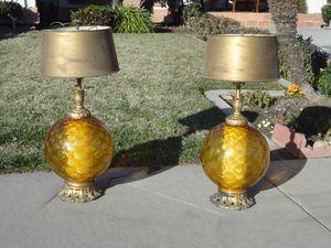 LAMPS - 2 for Sale in Modesto, CA