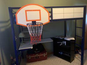 Kids Loft Bed with Desk for Sale in Garrison, MD