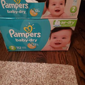 FREE Pampers Baby Dry Size 2 for Sale in Chicago, IL