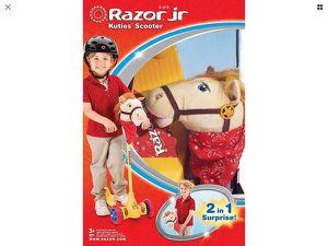 Katie's Scooter Kid Patineta juguete Monopatín Cabello Horse Razor Jr for Sale in Miami, FL