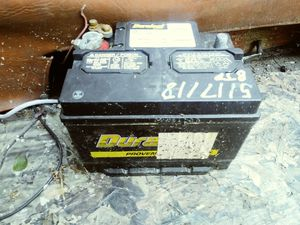 Boat slash car battery works good. for Sale in Peoria, IL