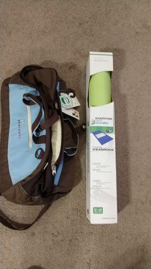 New Sherpani yoga backpack/duffle and Wii yoga mat for Sale in Portland, OR