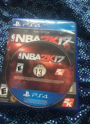 NBA 2k17 for PS4 for Sale in Grand Rapids, MI