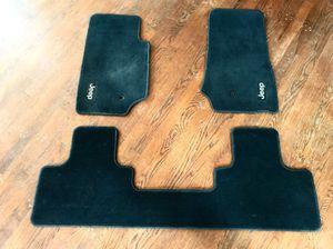 Jeep Wrangler JK - like new black floor mats for Sale in Greensboro, NC