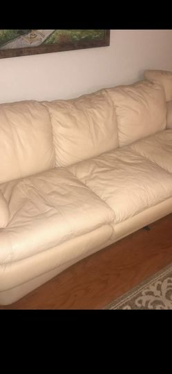1 couch 1 Love Seat (tan ,Bage Color) for Sale in Tampa,  FL