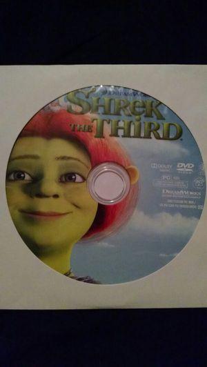 Shrek the third DVD for Sale in Miami Gardens, FL