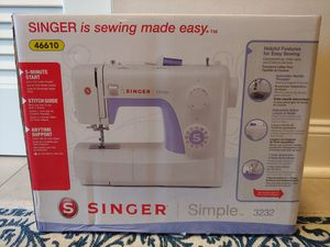 Singer Simple 3232 Sewing Machine New Sealed Box for Sale in Columbus, OH