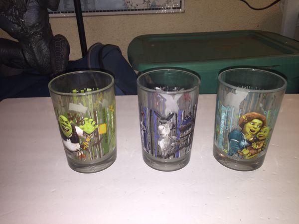 Shrek glass