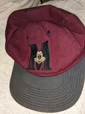 Vintage Disney Flat Embroided Mickey Mouse M Snapback for Sale in Greenville, SC