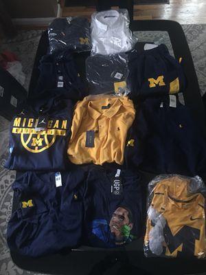 Michigan Polo & Michigan Jordan Clothing for Sale in Detroit, MI