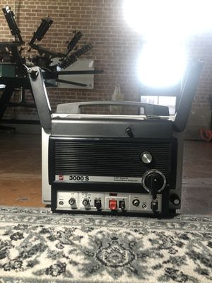 Super 8 GAF Sound Movie Projector 3000 S Rare Film Movie Camera Equipment for Sale in Tucson, AZ
