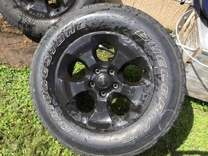 3 Tires and 5 Rims for Sale in Poinciana, FL