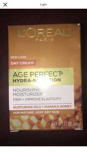 Loreal Age Perfect Hydra-Nutrition Anti-Sagging Ultra-Nourishing Moisturizer Day Cream for Sale in Pottsville, PA