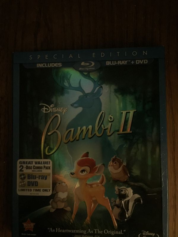 Bambi II blu-Ray