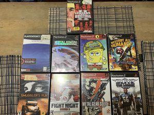 PS2 and PS3 Games for Sale in Tempe, AZ
