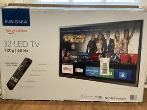 Insignia firetv edition 32 inch led tv never used for Sale in Irving, TX