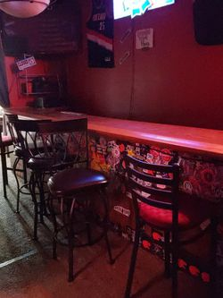 Bar For Sale. + Roll Top Fridge And Stools for Sale in Happy Valley,  OR