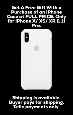 Apple iPhone Silicone Case models for X XS XR 11 Pro for Sale in Ontario, CA
