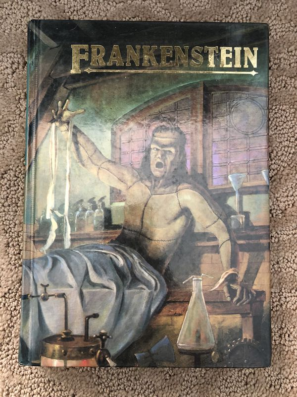 Mary Shelley Frankenstein horror novel