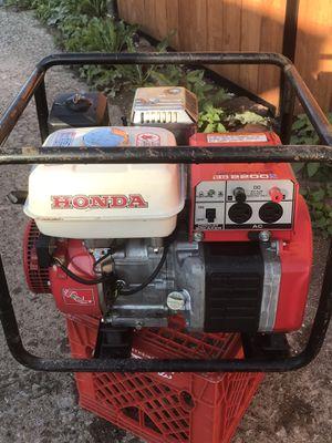 Honda EG2200X Excellent Condition Generator ! for Sale in Cicero, IL