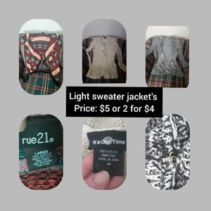 Sweaters, jackets, hoodies for Sale in Belleville, IL