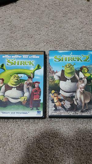 Shrek 1 & 2 for Sale in Tacoma, WA