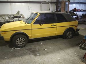 1984 volkswagen rabbit wolfsburg limited edition for Sale in Pawhuska, OK