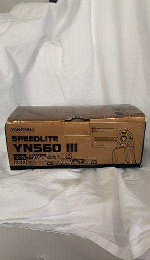 YONGNU. ...... SPEEDLITE YN560 111 ......V2018 for Sale in Carrollton, TX