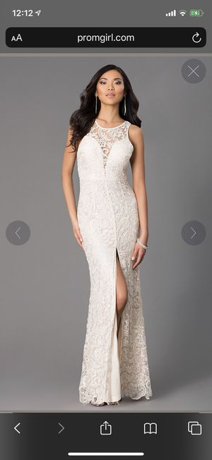 Black Lace Prom Dress with Slit for Sale in Philadelphia, PA