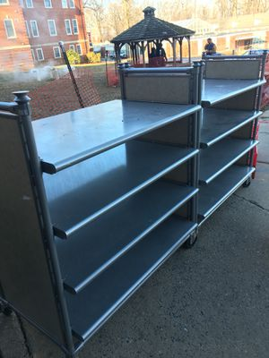 Metal Retail Display Shelves , Very Nice! for Sale in Romansville, PA