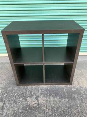 Black cube space storage shelves for Sale in Buena Park, CA