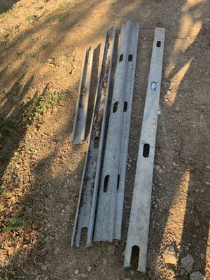 5ft construction metal poles for Sale in Dallas, TX