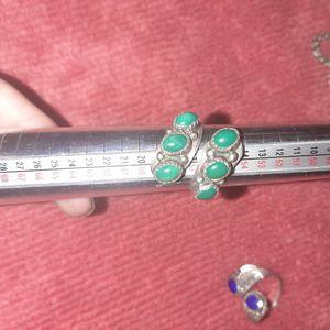 Size 8 Jade Silver Ring for Sale in Phoenix, AZ