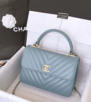 Chanel top handle leather bag for Sale in New York, NY