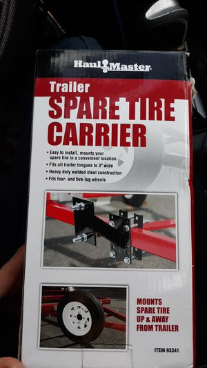 Trailer spare tire carrier bracket/mount for sale for Sale in Concord, CA