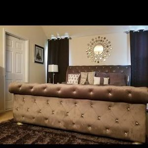 King Size Bed Frame for Sale in Lillington, NC