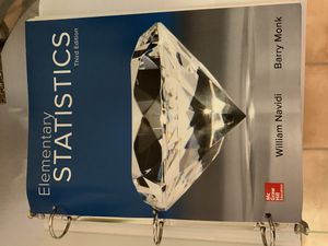 Elementary Statistics TextBook for Sale in Fairfield, CA
