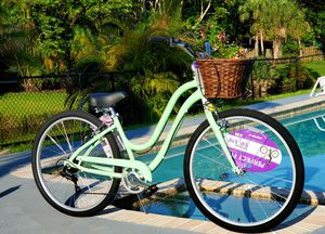 Brand new 26 in 7-speed luxury women's beach cruiser for Sale in Coral Springs, FL