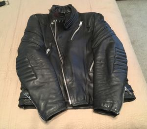 Leather Motorcycle Jacket And Chaps for Sale in Carrollton, GA