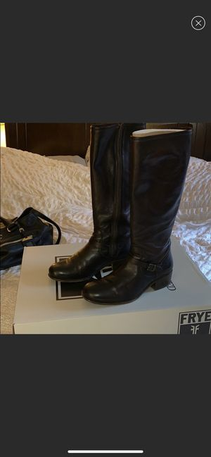 Frye Lynn Strap tall womens boots for Sale in Lisle, IL