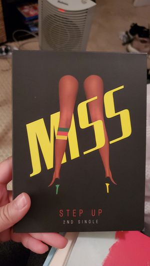 Miss A step up kpop collectable cd great condition for Sale in Montclair, CA