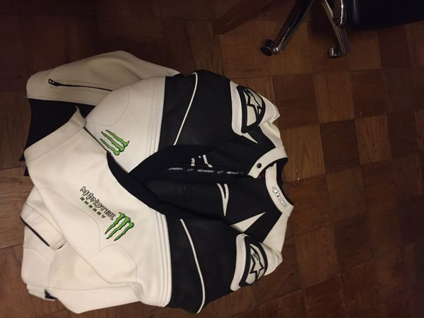 Alpinestars monster energy jacket size 48 us